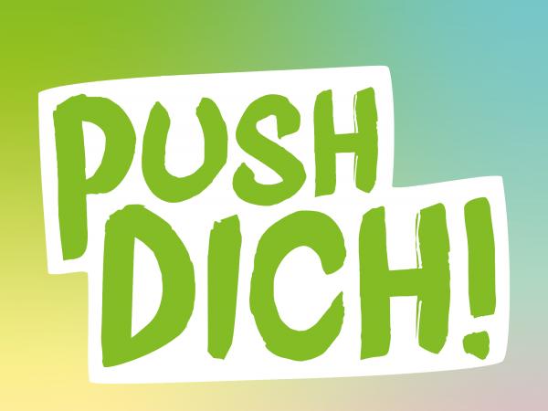 Push dich! Logo